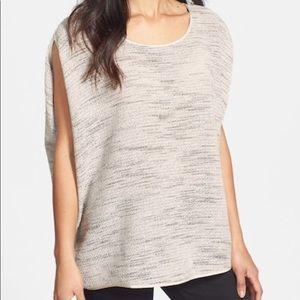 Eileen Fisher boxy sleeveless oversized top XL